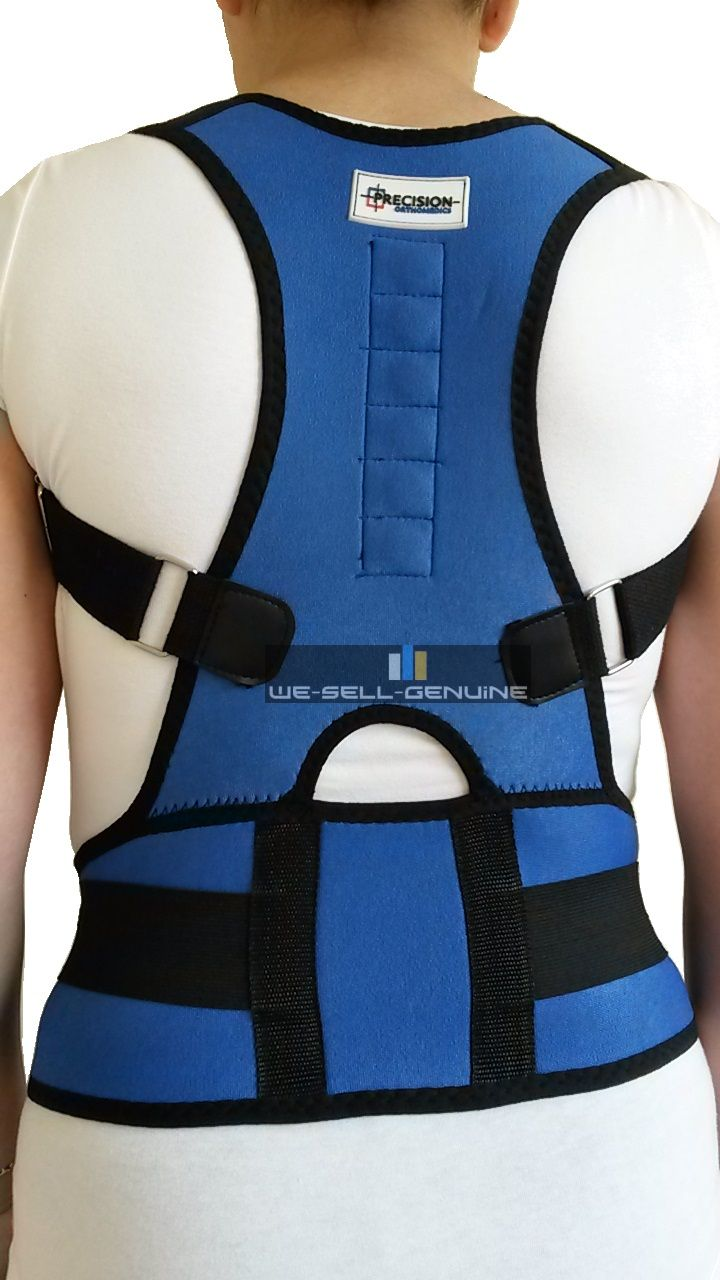 Ilizing Lumbar Black Back Brace